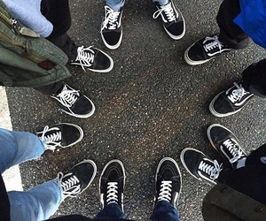 vans, black, and goals image