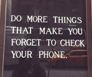 life, phone, and phrase image