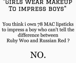 quote, mac, and makeup image