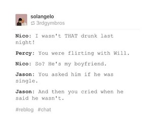 pjo, hdo, and nico di angelo image