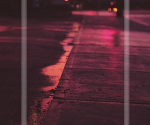orange, street, and light image