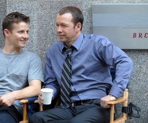 donnie wahlberg, blue bloods, and will estes image