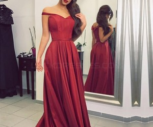 fashion, long prom dresses, and stunning prom dress image