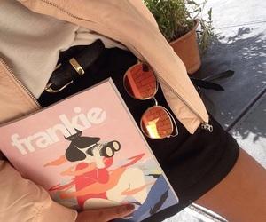 frankie magazine, tumblr aesthetic, and pink image