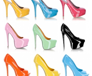 high heels, pumps, and shoes image