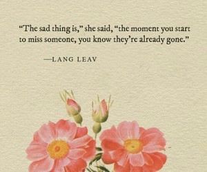 quotes, sad, and Lang Leav image