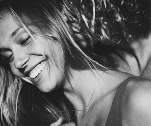couple, alexis ren, and kiss image