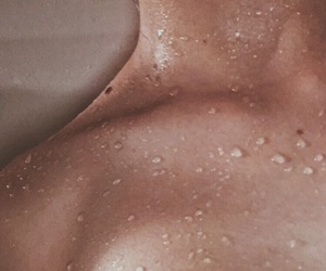 shower, cute, and wet image