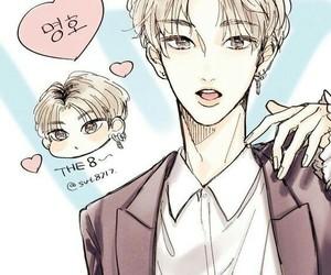 fanart, kpop, and Seventeen image