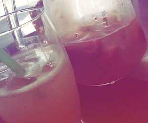 drinks, ice, and lemonade image