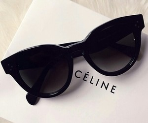 accessories, celine, and sunglasses image