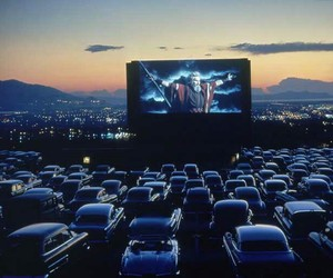 cars, movie, and sunset image