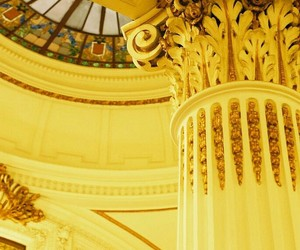 yellow and architecture image