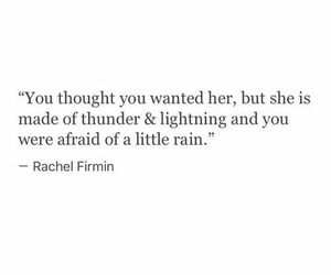 quotes, thoughts, and rain image