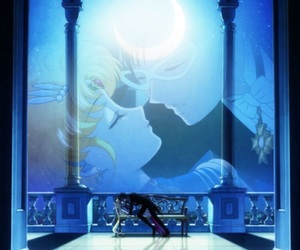 sailor moon, sailor moon crystal, and kiss image