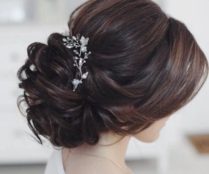 hair, hairstyle, and nice image