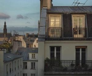 city, paris, and building image