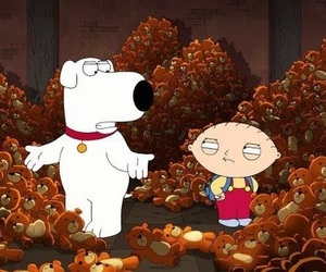 family guy, stewie griffin, and brian griffin image