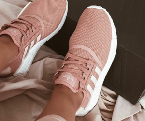 adidas, sneakers, and pink image
