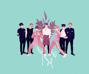 fanart, not mine, and bts image