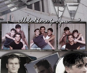 Ponyboy Curtis, the outsiders, and sodapop curtis image
