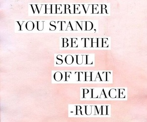 quotes, Rumi, and soul image