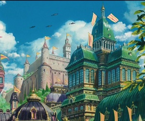 studio ghibli, anime, and howl's moving castle image