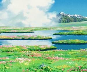 animation, Hayao Miyazaki, and howl's moving castle image