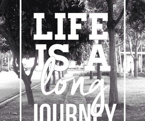 life, journey, and wallpaper image