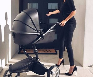black, baby, and fashion image