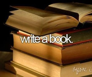 book and write image