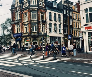 amsterdam, netherlands, and people image