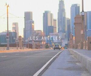 city, usa, and losangeles image