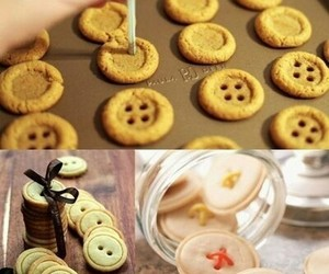 biscuit, button, and cookie image