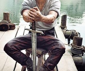 Charlie Hunnam and king arthur image