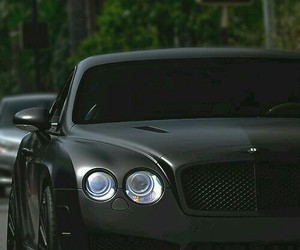 car, Bentley, and black image