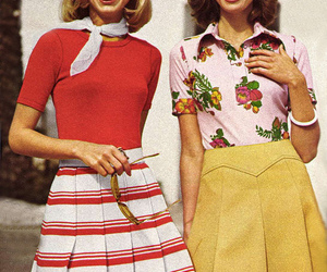 vintage, fashion, and 70s image
