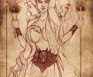hecate, goddess, and witch image
