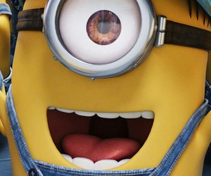 banana, minion, and movie image