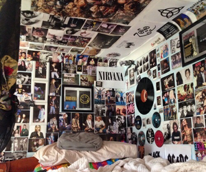 room, grunge, and nirvana image