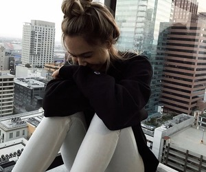 girl, alexis ren, and model image