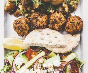 falafel, kebab, and greek food image