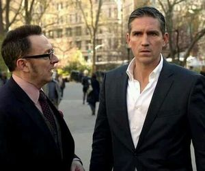 harold finch, poi, and jim caviezel image