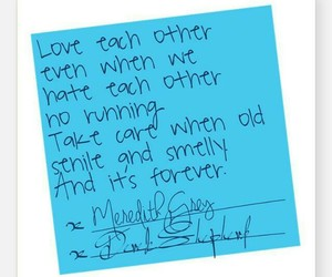 married, love, and post-it image