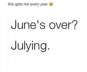 funny, july, and june image