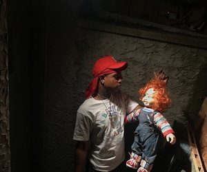Chucky and ski mask the slump god image