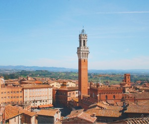 architecture, siena, and summer image