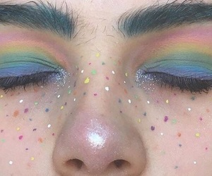 aesthetic, gay, and makeup image
