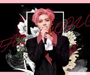 fanart, kpop, and pink hair image