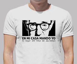 woody allen, frases, and camisetas image